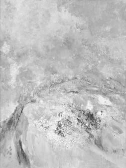 Abstracte grijze olieverf getextureerde achtergrond