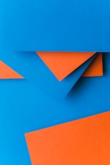 Abstracte helder gekleurde papier textuur minimalisme achtergrond
