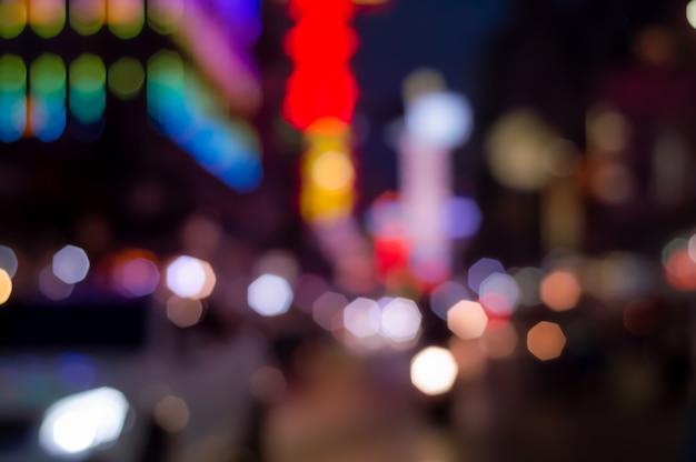 Abstracte heldere kleurrijke glitter geometrie achthoek bokeh achtergrond