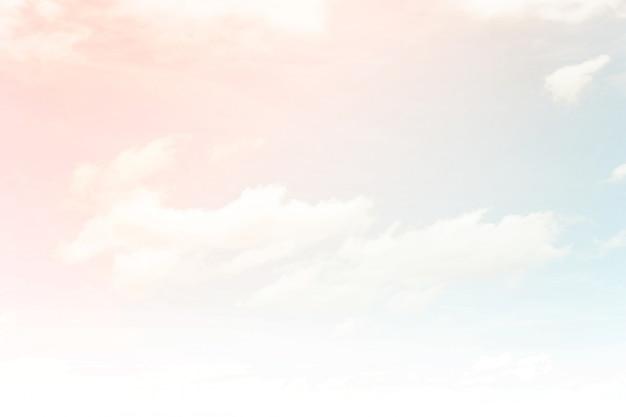 Abstracte hemelachtergrond in verloop pastel