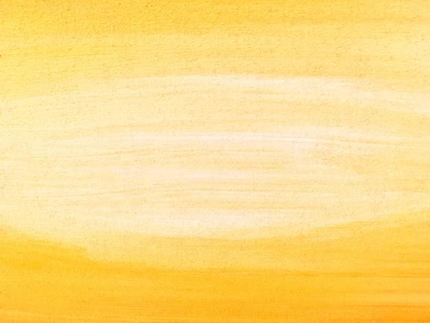 Abstracte het schilderen kunst gele en witte kleuren als achtergrond.
