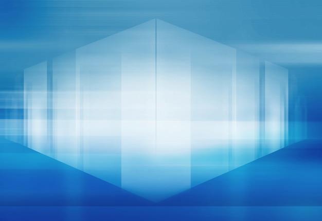 Abstracte high-tech 3d ruimteachtergrond