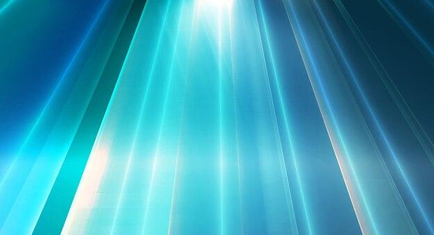 Abstracte high-tech achtergrond lichteffecten tot de diepte 3d illustratie