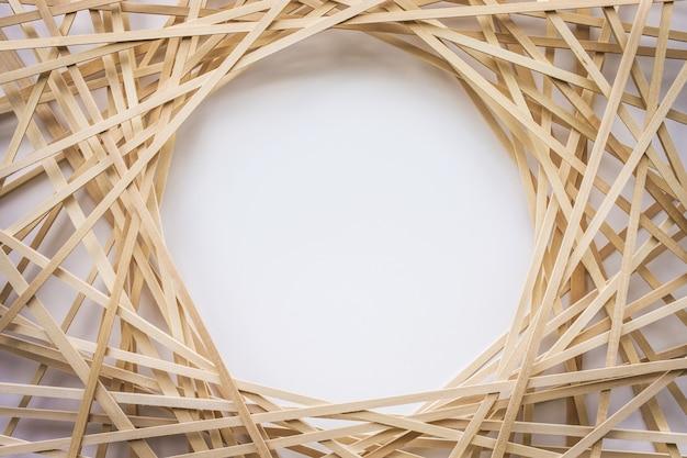 Abstracte houten patroonachtergrond. creativiteit concept idee