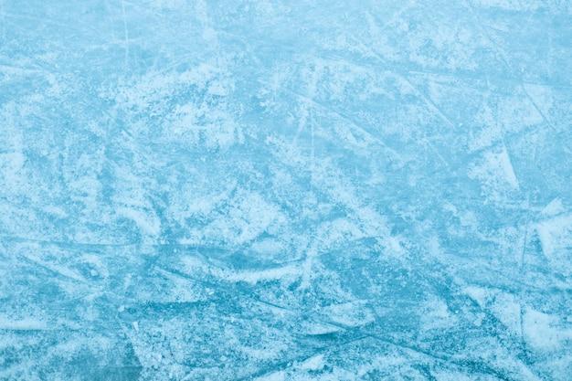 Abstracte ijstextuur. natuur blauwe achtergrond.