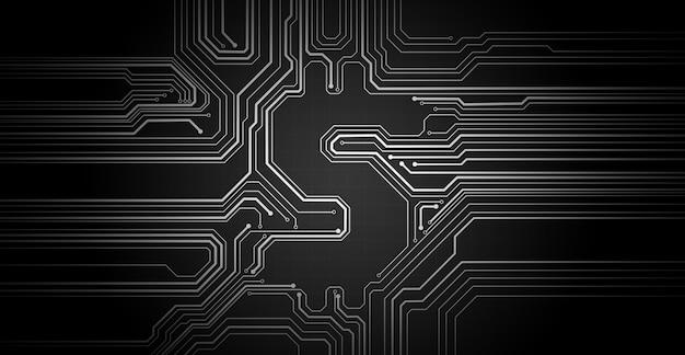 Abstracte illustratie van zwart dollarsymbool. conceptueel beeld van zakelijke technologie, financiën, markt op internet gegevensgebied.