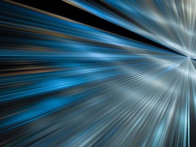 Abstracte kleur dynamische achtergrond met lichteffect. fractaal golvend. fractal kunst