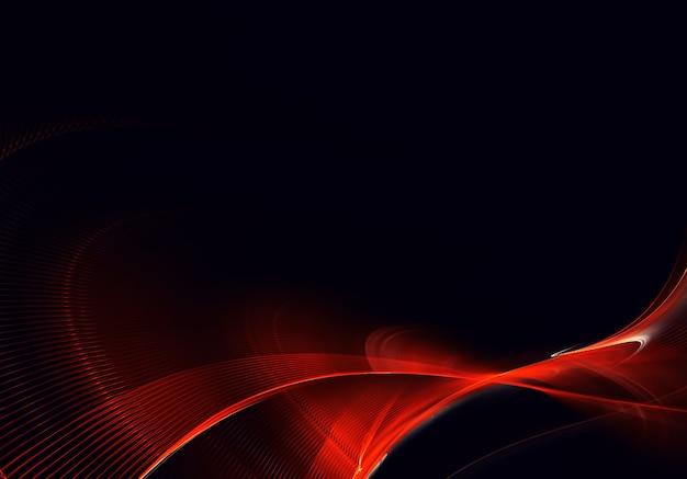 Abstracte kleur dynamische achtergrond met lichteffect.