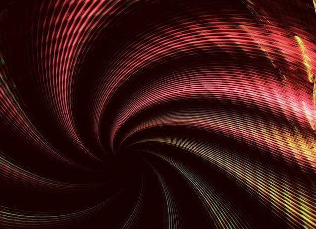 Abstracte kleur dynamische gestructureerde achtergrond met lichteffect fractal spiraal fractal art