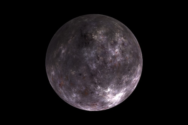 Abstracte kleur wazig planeet in de ruimte, andere werelden, een fantastische planeet in een ander sterrenstelsel