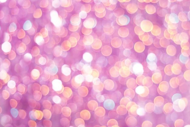 Abstracte kleurrijk defocused achtergrond met feestelijk licht bokeh