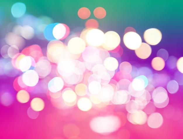 Abstracte kleurrijke achtergrond in de vorm van heldere verschillende bokeh, pastel kleuren
