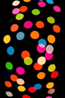 Abstracte kleurrijke intreepupil circulaire facula achtergrond