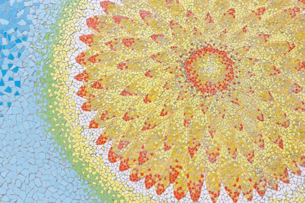 Abstracte kleurrijke keramische tegelpatronen