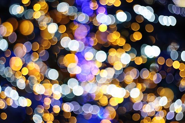 Abstracte kleurrijke onduidelijk beeld bokeh lichten