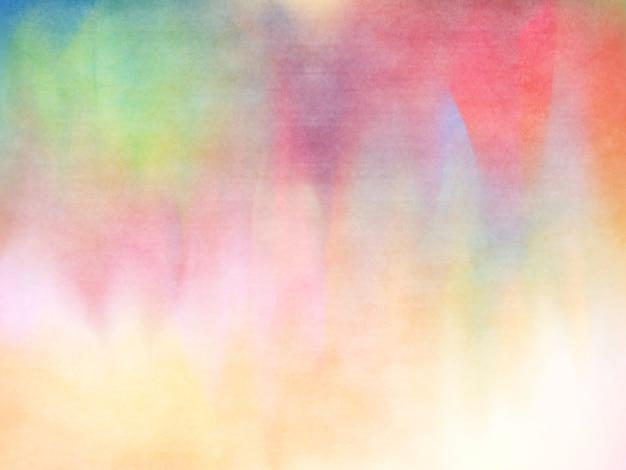Abstracte kleurrijke pastel aquarel
