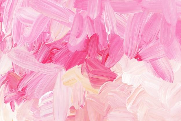 Abstracte kleurrijke penseelstreken textuur als achtergrond.