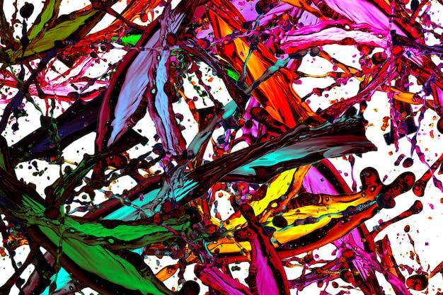 Abstracte kleurrijke plonsachtergrond. aquarel achtergrond