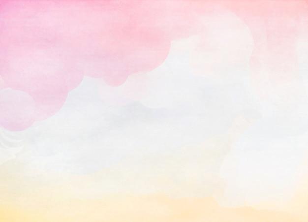 Abstracte kleurrijke waterkleur voor achtergrond. zachte achtergrond. digitale kunst schilderij.