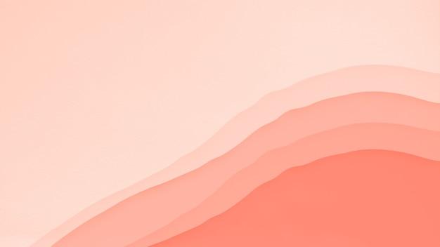 Abstracte koraal oranje kleur