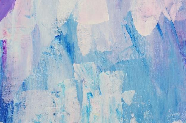 Abstracte kunst achtergrond hand getekend acryl schilderen