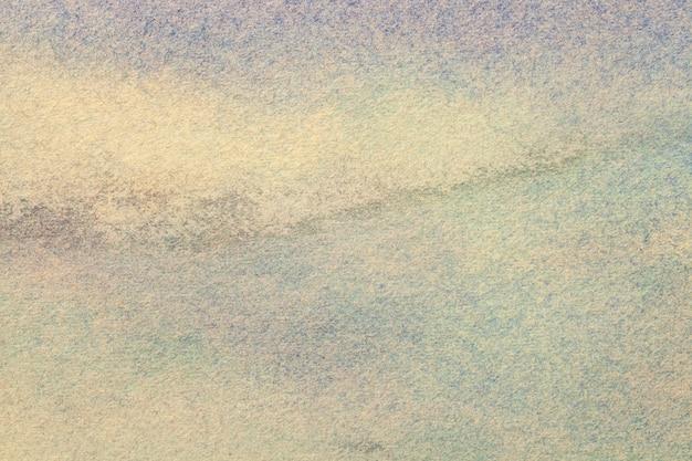 Abstracte kunst beige en blauwe kleuren.