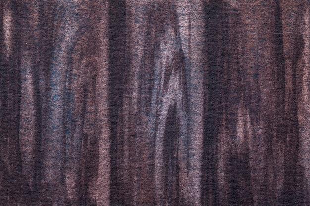Abstracte kunst donkerbruine en paarse kleuren.