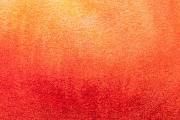 Abstracte kunst donkerrode en oranje kleuren.
