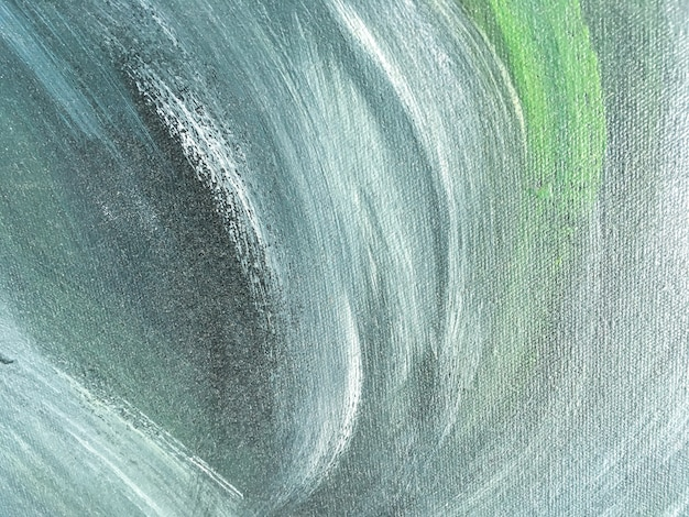 Abstracte kunst groene en blauwe kleur als achtergrond.