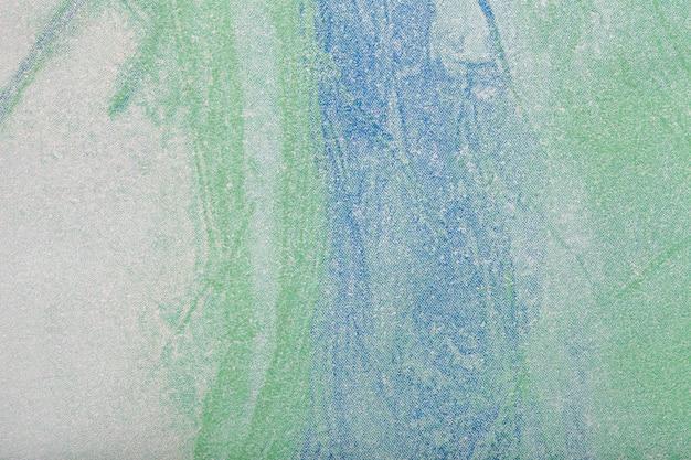 Abstracte kunst groene en blauwe kleur als achtergrond