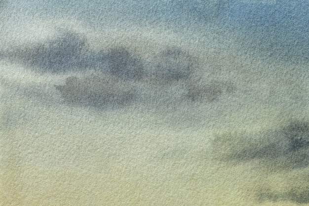Abstracte kunst lichtblauwe en groene kleuren als achtergrond