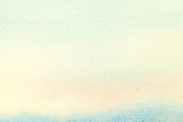 Abstracte kunst lichtblauwe en turkooise kleuren als achtergrond.