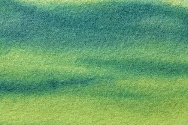 Abstracte kunst lichtgroen en olijfkleuren.