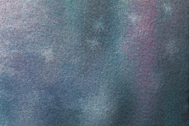 Abstracte kunst marineblauwe en paarse kleuren.