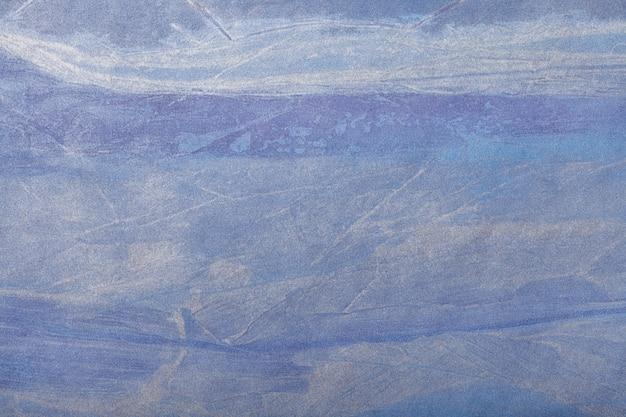Abstracte kunst marineblauwe kleur als achtergrond. multicolor schilderij op canvas.