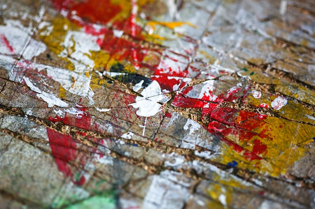 Abstracte kunst print vintage achtergrond