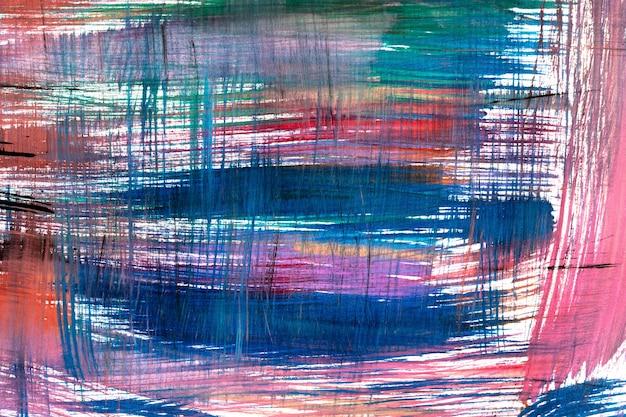 Abstracte kunst van druppelswaterverf