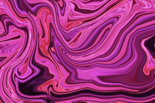 Abstracte kunst van mooie verf van marmer
