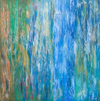 Abstracte kunstachtergrond van olieverf