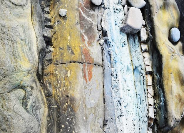Abstracte kust stenen achtergrond