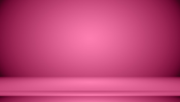 Abstracte lege gladde licht roze studio kamer achtergrond, gebruik als montage voor productweergave, banner, sjabloon.