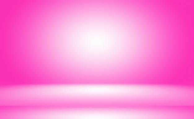 Abstracte lege gladde lichtroze studio kamer achtergrond gebruiken als montage voor product displaybannertemp...