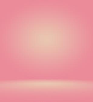 Abstracte licht roze rode achtergrond kerstmis en valentijnsdag lay-out designstudioroom websjabloon bus...