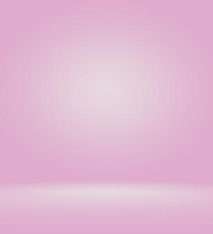 Abstracte licht roze rode achtergrond kerstmis en valentijnsdag lay-outontwerp, studio, kamer, websjabloon, bedrijfsrapport met vloeiende cirkel kleur voor de kleurovergang.