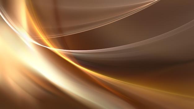 Abstracte lichte achtergrond met golven van licht