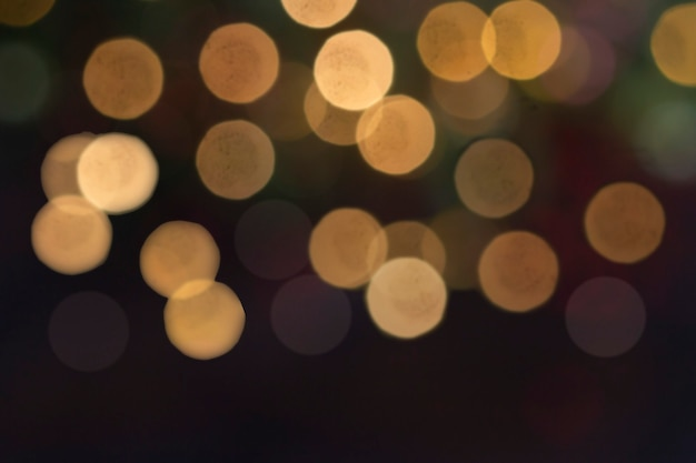 Abstracte lichte bokeh-achtergrond, kerstverlichting, wazige lichten, glitter schittering