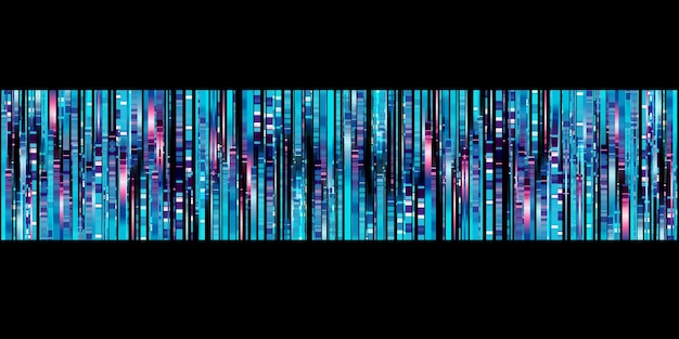 Abstracte lichte lijn gloed blauwe led lijn beweging technologie achtergrond 3d illustratie