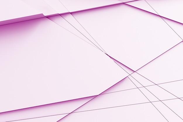 Abstracte lichte textuur. het vliegtuig ontleedde in vele stukken op verschillende niveaus