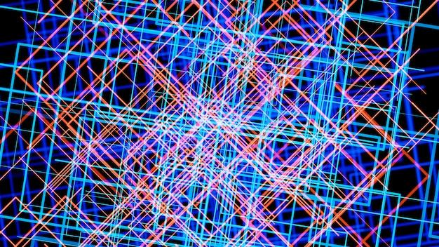 Abstracte lichteffect tabel patroon technische achtergrond