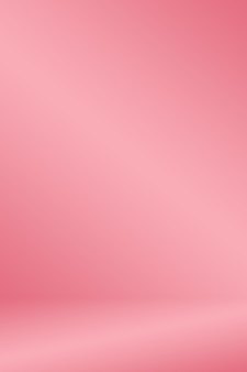 Abstracte lichtroze rode achtergrond kerstmis en valentines lay-out ontwerp, studio, kamer, web sjabloon, business rapport met gladde cirkel gradiënt kleur.